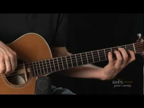 Tis So Sweet to Trust in Jesus song - Learn Intermediate Acoustic Guitar Lesson