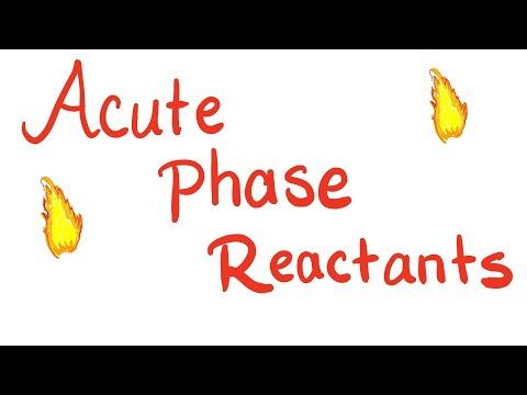 Acute Phase Reactants (APRs) ESR And CRP