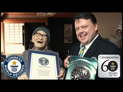 Oldest People Ever - Guinness World Records 60th Anniversary