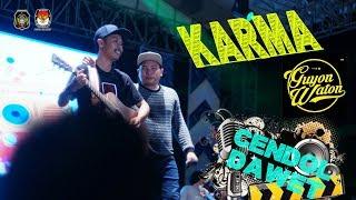 Karma Guyon Waton Live Aloon aloon Kota Blitar