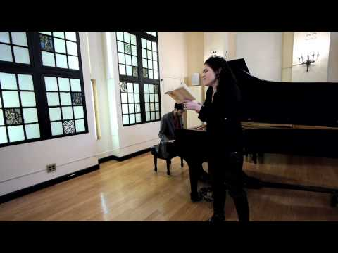 Rinat Shaham and Noam Sivan Improvise on a Hebrew poem