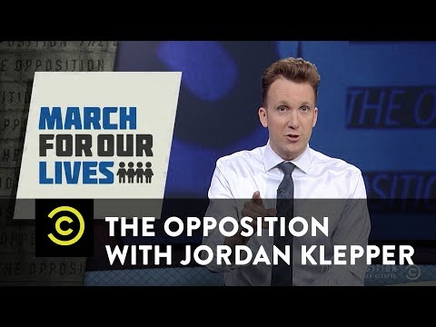 Adult-Splaining Grammar to Teen Activist David Hogg - The Opposition w/ Jordan Klepper