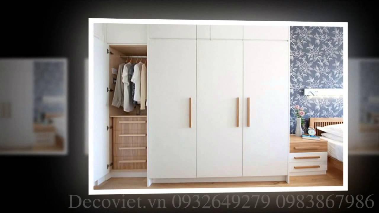 Lựa chọn tủ quần áo đẹp và hiện đại cho phòng ngủ