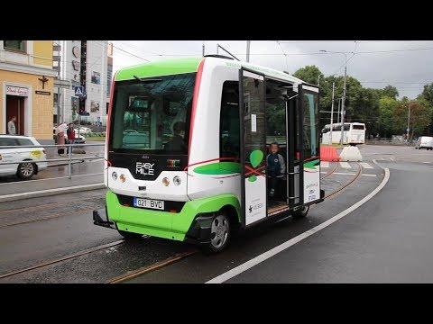 Self-driving bus Tallinn