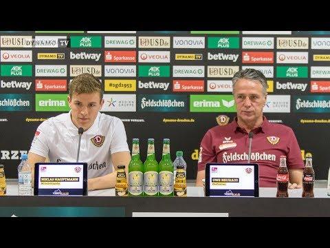 13. Spieltag | KSV - SGD | Pressekonferenz vor dem Spiel