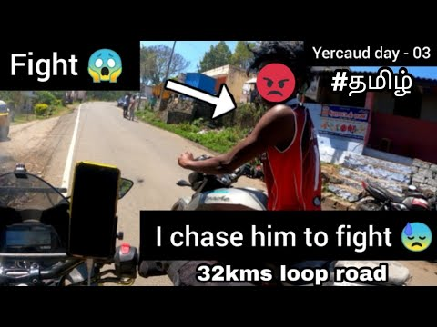 Download 😠 Fight   I chase him to fight   Tamil   yercaud day - 03   Yercaud loop road  Race  R15v3  apache