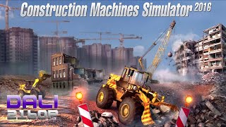 Construction Machines Simulator 2016 PC 4K UltraHD 60fps Gameplay 2160p