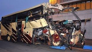 Аварии с автобусами. Подборка ДТП