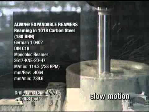 SCAMI - Escariado de acero al carbono 1018