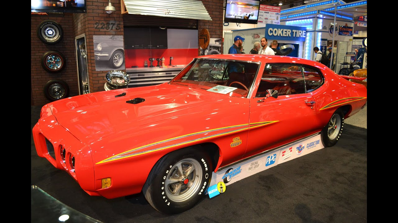 Wheel Vintiques Brings 1970 Gto Judge To The 2015 Sema