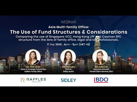 Asia Multi-family Office: The Use of Fund Structures and Considerations