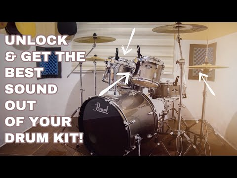 Get the Best Sound of Pearl Roadshow and ANY entry-level drum kits! (2020)