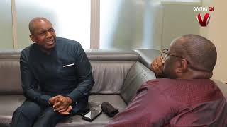 Presidential Aspirant Fela Durotoye Visits Chief Dele Momodu