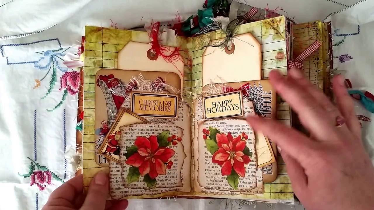 Vintage Christmas Junk Journal For Jennifer Yeo YouTube