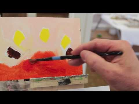 Art Lesson #12 - Intro to Painting - Class 3 - An introduction to Hans Hofmann by Jon Peters