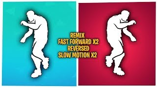 Fortnite Work It Emote BUT In Reversed Remixed Fast Forward X2 Slow Motion X2