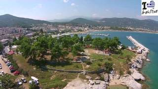 NEA IRAKLITSA  AERIAL GREECE  2014