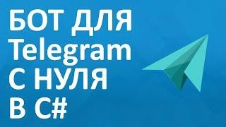 Как создать бот для Telegram с нуля в C#