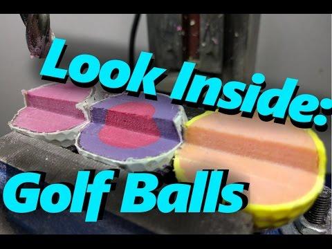 Look Inside: Golf Balls (Taylormade, Titelist, Top Flite)