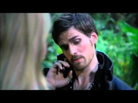 Once Upon A Time 3x05 - Hook and Emma Kiss Scene thumbnail