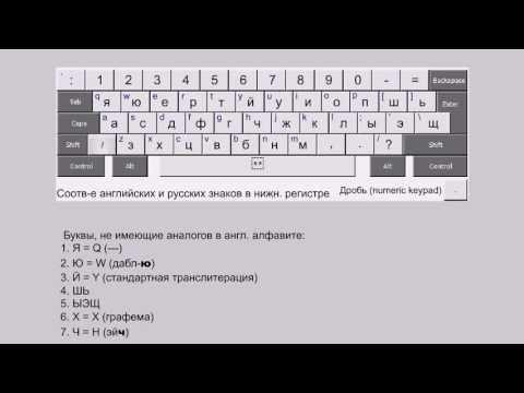 фонетическая раскладка русского языка ЯЮЕРТЙУ (RusPhonetic)