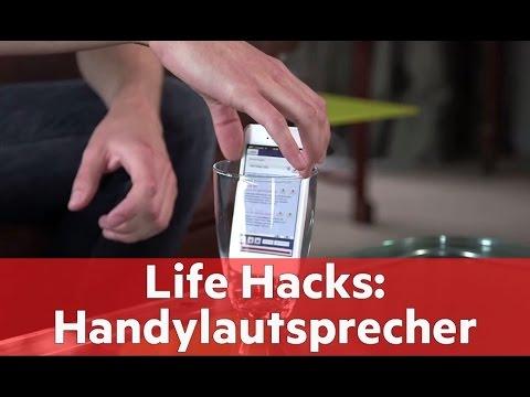 Life Hacks So Pimpen Sie Ihre Handylautsprecher Youtube