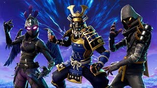*NEW* Fortnite SKINS, GLIDERS, & DANCES! Female Raven, Ravage Skin, Samurai, & Cloaked Star Skins!