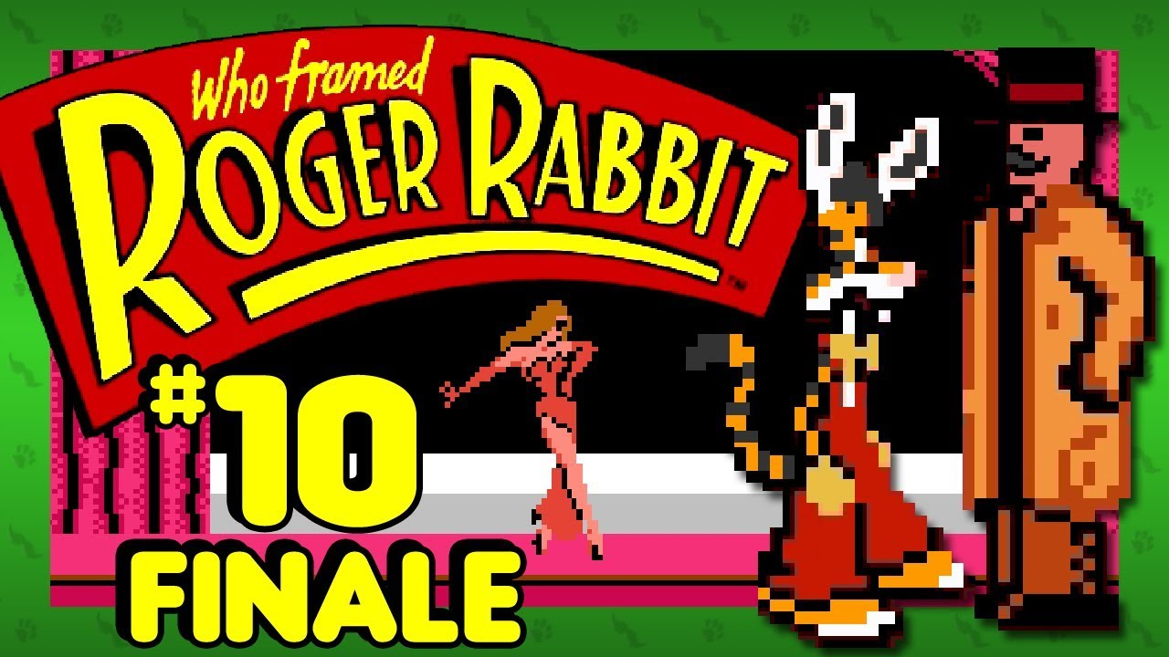 I\'LL KICK YOU IN THE NOSE! - Who Framed Roger Rabbit (NES): Part 10 ...