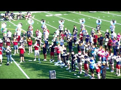 University of South Carolina Marching Band | Music Rehearsal