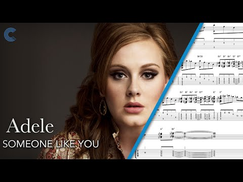 Piano - Someone Like You - Adele - Sheet Music, Chords, & Vocals