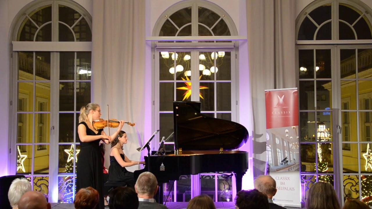 Duo Dopico - Ludwig v. Beethoven, Sonate für Violine und Klavier Nr.7, Allegro con brio