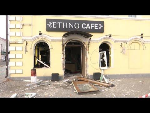 Взрыв в кафе Улан-Удэ. Репортаж с места происшествия