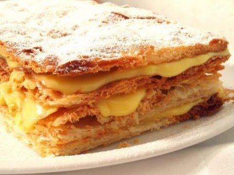 Millefoglie Cake Recipe
