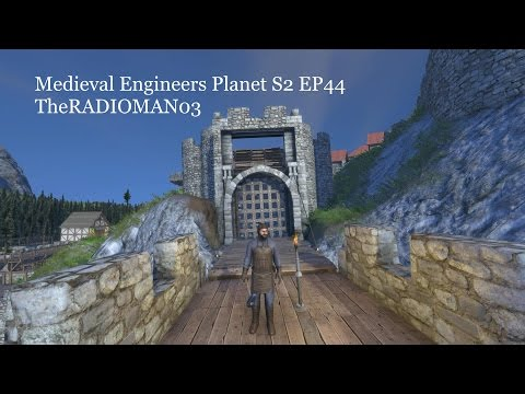 "Medieval Engineers S2 EP44 ""Machicolations/Gate House Work"""