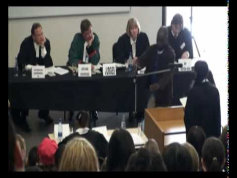 Schools Moot Court Competition at TUKS (2008)