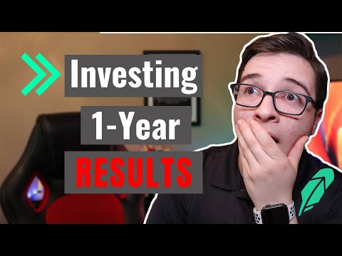 Dividend Investing | Results After 1 Year on Robinhood App | How to Invest