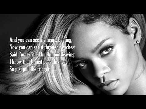 Rihanna  Russian Roulette Lyrics HD