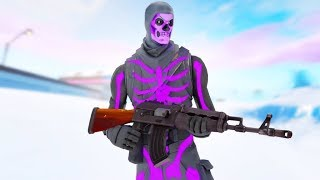 Going For Clips w/Purple Skull // Solo Squads