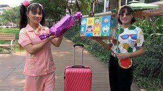 Chị Tuyết Đi Du Lịch Về ❤ BIBI TV ❤