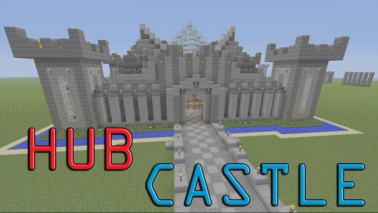 how to build a castle in minecraft youtube