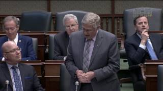 Ernie Hardeman MPP Statement on George Leslie Mackay