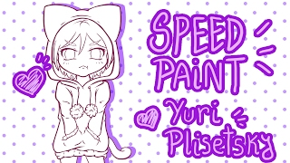 Yuri!!! On Ice - Yuri Plisetsky Chibi「SpeedPaint」