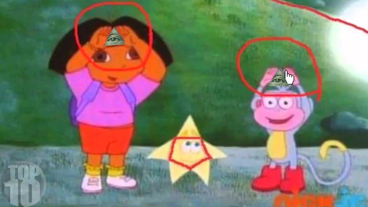 10 Illuminati Signs In Kids Cartoons Youtube