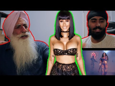 GRANDPA REACTS TO CARDI B, BAD BUNNY & J BALVIN- I LIKE IT