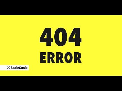 How To solve Xampp-Apache Http-Error-404.