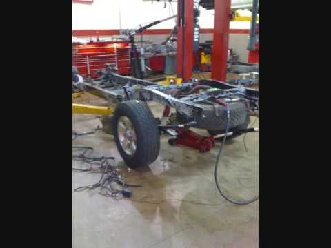 Toyota Tacoma frame replacement - YouTube