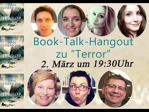 Booktalk - Terror von Dan Simmons mit ganz tollen Gästen