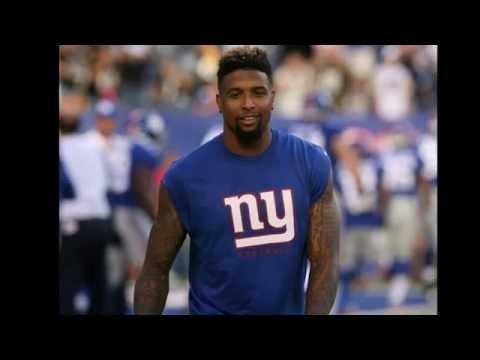 Odell Beckham Jr Giants Football Giants Receiver Giants Stadium New York