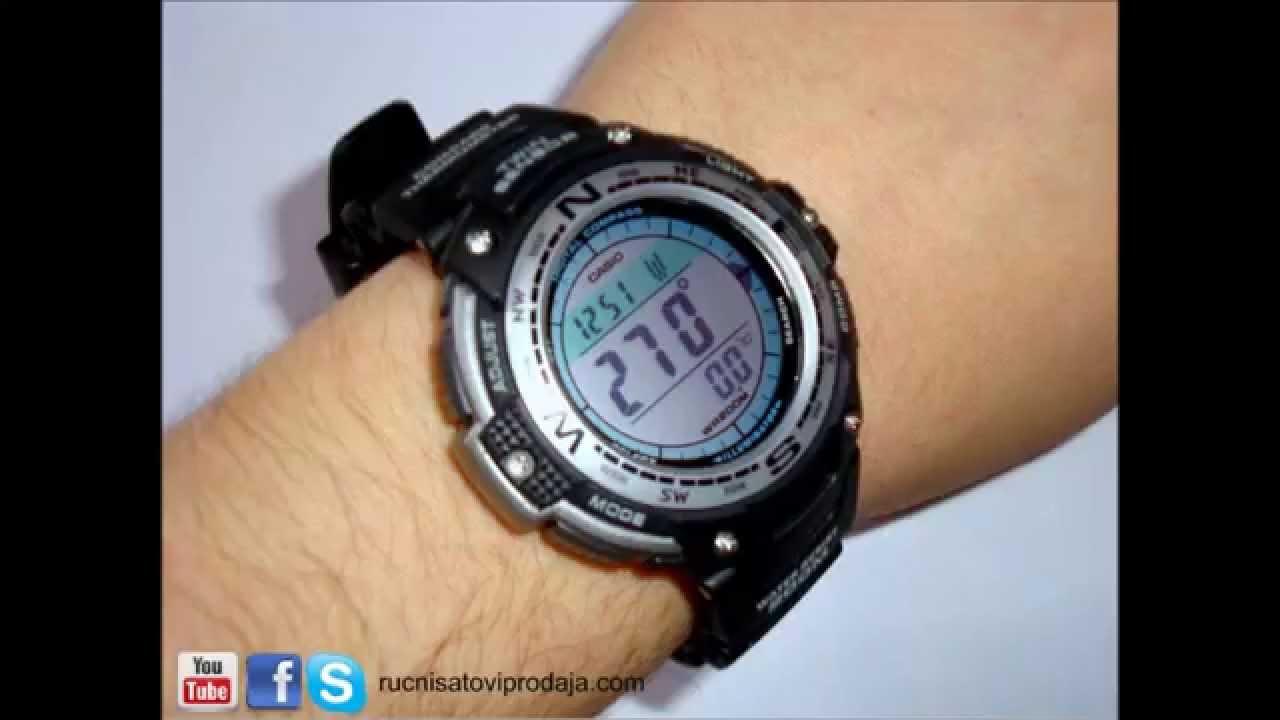 dfc59ebddfb Casio SGW-100-1VEF - YouTube