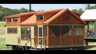 Stunning Tiny Cabin Screened Porch Video